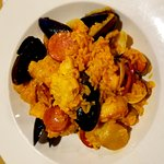 Paella, dinner special