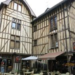Troyes old town - steps away