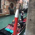 Venice gondola crossings, the experience for a fraction of the price.