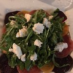 beet and arugula salad was amazing!