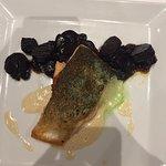 Filet de saumon et carottes violettes