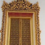 Fully ornamented door