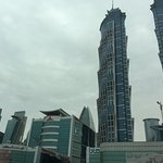View of Emirates Towers