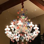 Exquisite chandelier. There are 3 of them