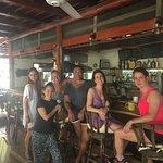 Foto de Open Air Restaurant at Funky Monkey Lodge