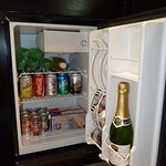Suite fridge on arrival