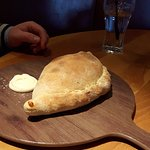Calzone a culinary surprise waiting