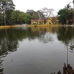 Carp pond on the grounds of the Presidential Palace
