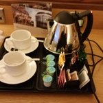 Tea making facilities in room