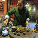 Tea Ceremony at the hotel