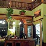 Nice dining atmosphere