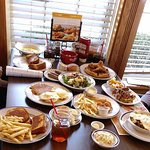 all the new dishes at Bob Evans'