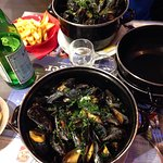 Moules frites 😋