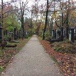 path in Alter Südfriedhof