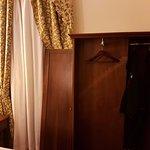 one door missing and one door broken in the wardrobe
