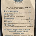 Doggy Menu!