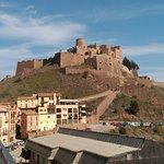 Castillo de Cardona desde el mirador de la ciudad
