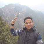 on way to Tiger Nest