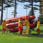 Australia Life Saving Club members