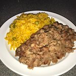 Rice and Refried Beans