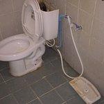 No funcionaba la cisterna. Está es la solución que nos dieron. Quitar la tapa y tirar del cable.