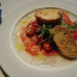 Infinit Restaurant -Carpaccio de Bacalao-