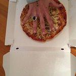 Pésimo! Nos han cobrado 8€ por esta minipizza!!! La calidad es buena pero la cantidad es deficie