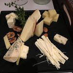 Room service cheese plate, highly recommended.