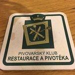 Pivovarsky klub - beer coaster