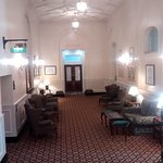 Victorian hotel public areas.