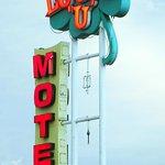 Iconic Lucky U Motel Sign