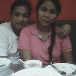 My daughter and I at Lam Tin.