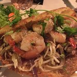 Shrimp Pancake - Very generous size, delicious!