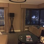Junior suite - view of Syndey Harbour Bridge and Opera House