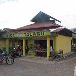 Simple shop with delicious, hot bika