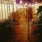 Unwind in our meandering vintage brick courtyard.  ~ 44 Spanish Street Inn ~  St. Augustine, FL