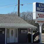 Exterior of the Kiva Motel