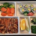 Thanks BroS :) My chicken teriyaki and Cali roll bento combo box $10.50