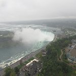 View of Horseshoe Falls from the Skylon Tower