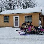 Warming shed at Treats and Treasures