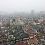 Bad air pollution in Fuyang