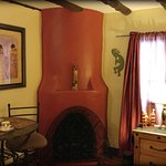 The colorful Adobe Suite, a guest favorite at the inn.