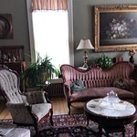Victorian furniture in the Parlor