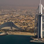 Burj al Arab and Jumeirah Beach Hotel