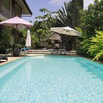 Another private swimming pool in our private accommodation zone, Yellow house