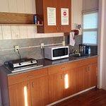 Cabin kitchen.