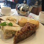 Super yummy afternoon tea set for Rm31++. Comes w scones sandwiches and a slice of cake.  Best s