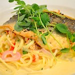 Pan roasted fillet of Sea Bass