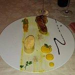 Duo de foie gras. Pour les vrais amateurs du VRAI goût...