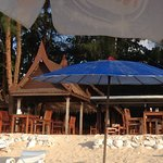Late afternoon at the best beach restaurant in Khao Lak.